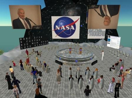 Buzz Aldrin at NGEC2