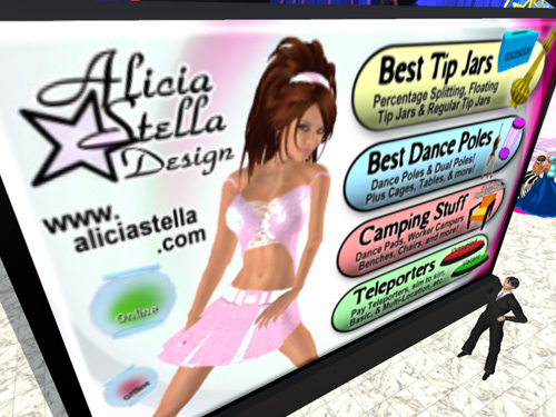 Sign for Alicia Stella Design