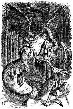 Jabberwocky illustration by John Tenniel