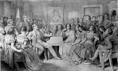 A private piano recital