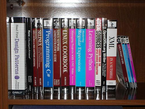 Someone likes O'Reilly books