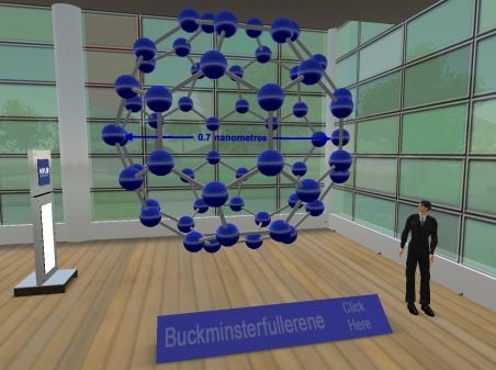 C-60 Molecule Exhibit